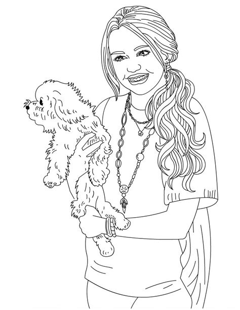 Printable Hannah Montana Coloring Pages Coloring Me Montana Coloring Pages