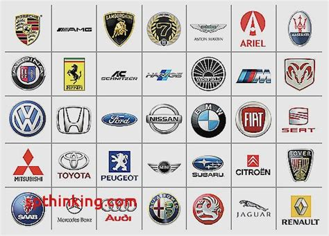 luxury car logos and names car sign with namesthe best car logos of all luxury