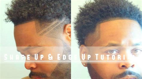 shape up for long hair how to line up shape up edge up your own hair tutorial