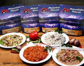 mountain house meals mountain house freeze dried cing emergency survival dehydrated food mre meals ebay