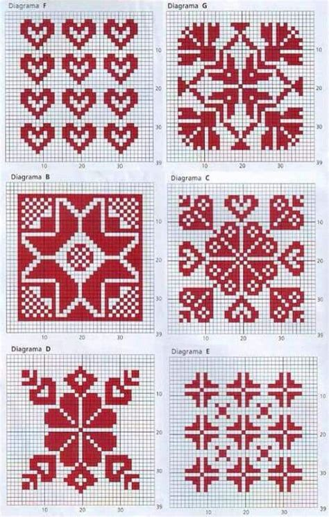 fair isle knitting motifs 40 best images about breipatronen on fair
