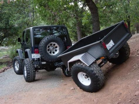 jeep offroad trailer jeep road trailer plans