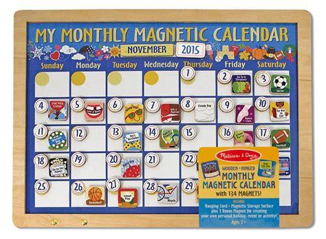 Magnetic Calendars Doug Deluxe Wooden Magnetic Calendar