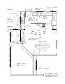 Kitchen Floor Plans Islands by U Shaped Kitchen Floor Plans With Island