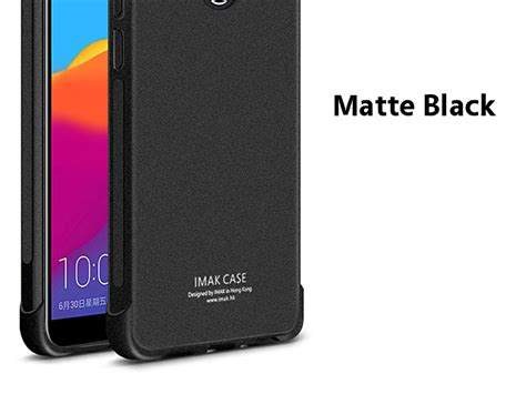 Softcase Black Matte Tempered Glass Warna Black Edition Iphone 7 imak shockproof tpu soft for huawei honor 7c
