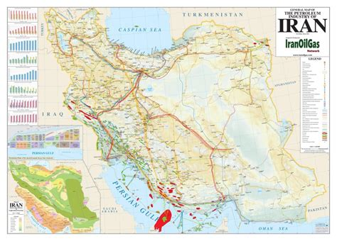 map in iran middle east iran petroleum maps iranoilgas network