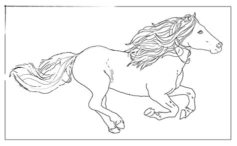 coloring page galloping horse free coloring pages of compass rose