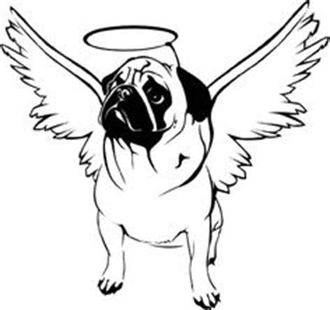 pug line drawing printable pug coloring page 1 1 board clip craft and embroidery