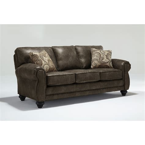best home furnishings bonded leather tucson three cushion