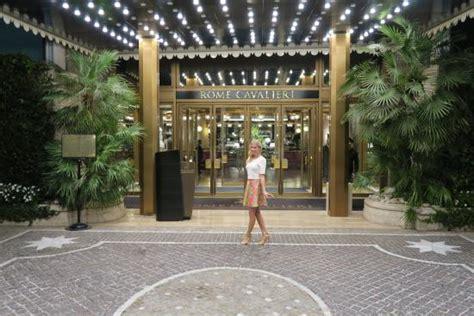 in front of rome cavalieri hotel picture of la pergola