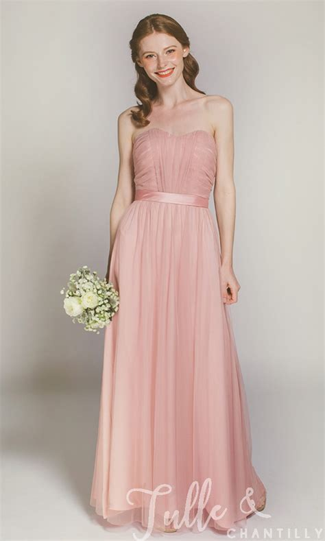 colored bridesmaid dresses midyat