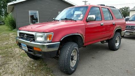 toyota 4runner for sale mn 1995 toyota 4runner for sale carsforsale