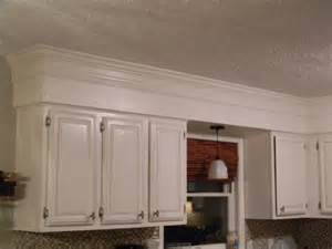 crown molding for kitchen cabinets have 80 s bulkheads in your kitchen not anymore make your old cabinets look like custom to the