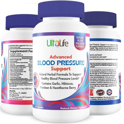 supplement high blood pressure buy ultalife s advanced blood pressure supplements are the