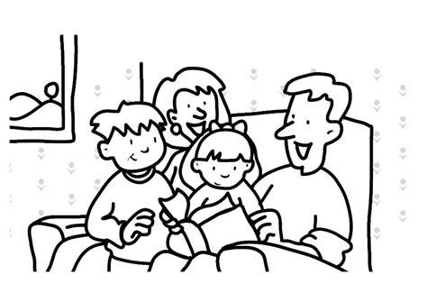 finest coloring pages family members have on printable
