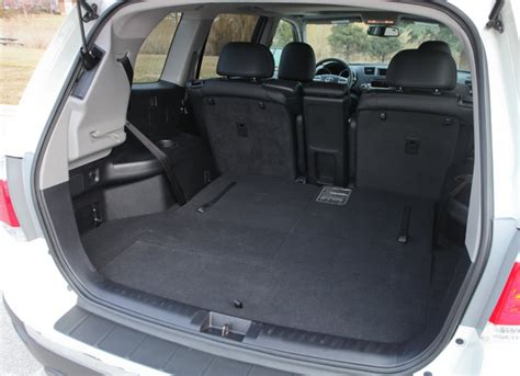 toyota highlander 3rd row seat space what to look for when buying a used toyota highlander