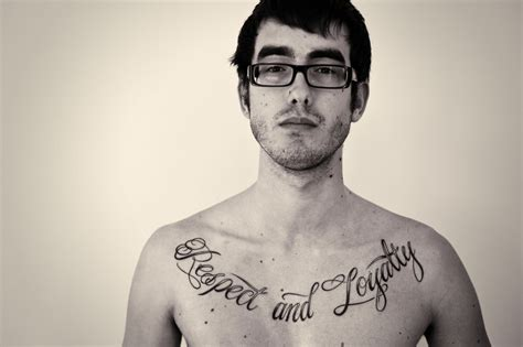chest tattoo respect 50 awesome respect tattoos