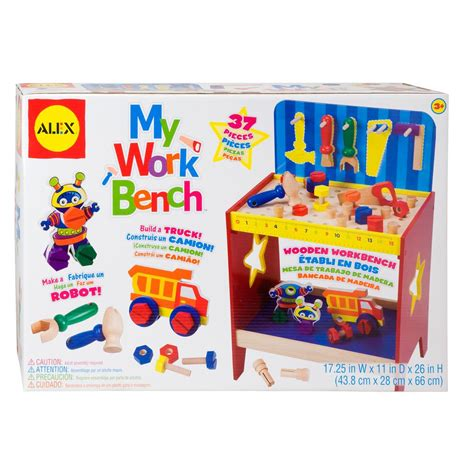 my work bench the home depot kids toy work bench wb 02028 the home depot
