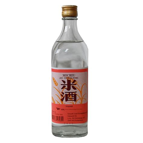 liroy b v taiwan rice wine michiu 19 5 12x600ml btl