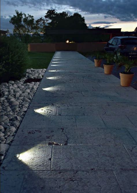 wired pathway lights ground lighting lighting ideas