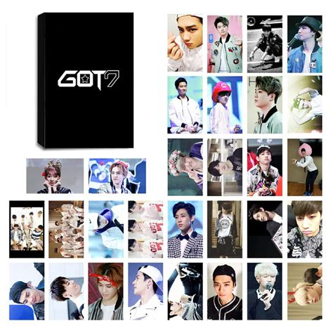 Gift Card Mall Reviews - got7 lomo photocard set kpop mall usa