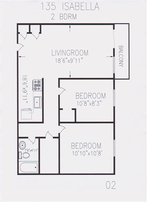 700 square foot house plans open floor plans 2 bedroom 2 bedroom floor plans for 700