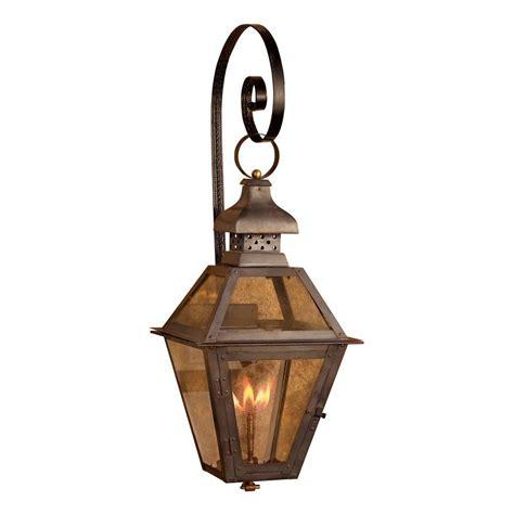 Titan Lighting Bayou 30 In Outdoor Washed Pewter Gas Light Lanterns