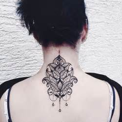101 pretty back of neck tattoos