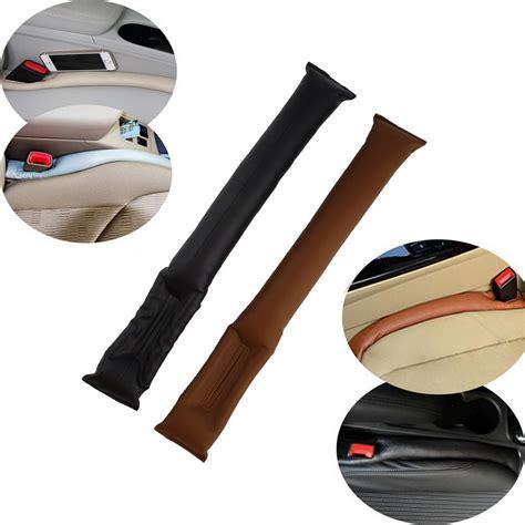 Car Seat Gap Filler 1 color randomfaux leather car seat gap pad fillers holster spacer filler padding protective