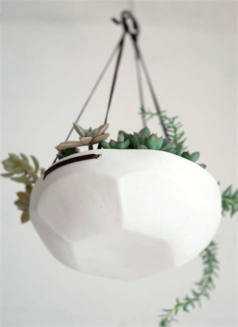 Hanging Indoor Planter by Faceted Hanging Tray Indoor Pots And Planters By Pigeon Toe