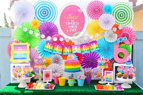 Decoration Diy Ideas Kara S Party Ideas Quot Troll Tastic Quot Trolls Birthday Party