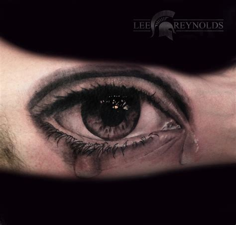 tattoo on eye realistic eye by by rudeboytattoo on