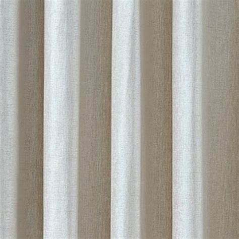 chenille curtains luxury chenille ring top curtains pair finished in natural