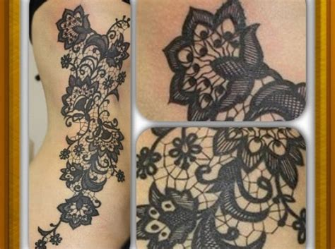 lace tattoo new tattoo trends tattoos i love