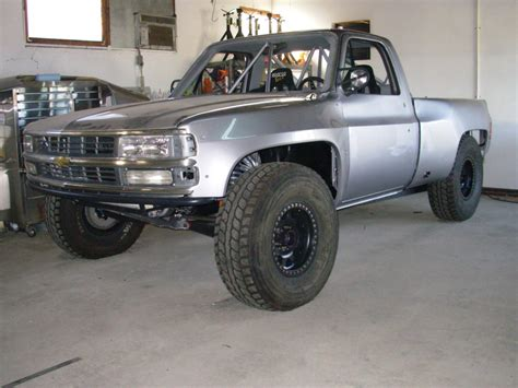 chevy prerunner truck chevy prerunner not liking the modified headlights and