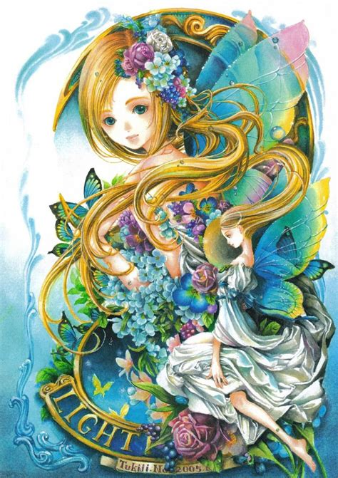Light Fairies Light Anime By Tukiji Nao Anime Wallpapers That Are 5 Worthy