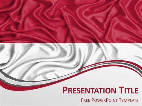 tutorial powerpoint 2016 bahasa indonesia indonesia flag powerpoint template presentationgo com