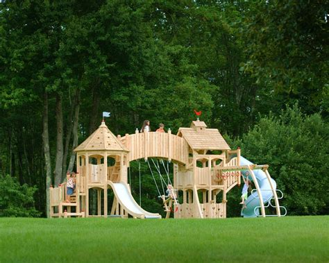 jungle gym backyard backyard with wooden jungle gym hgtv