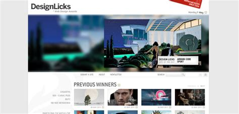 Web Awards 2011 Detroitdesign Les Awards Du Webdesign Webdesigner Trends