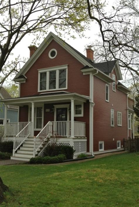 red siding houses james hardie country lane red siding traditional exterior chicago