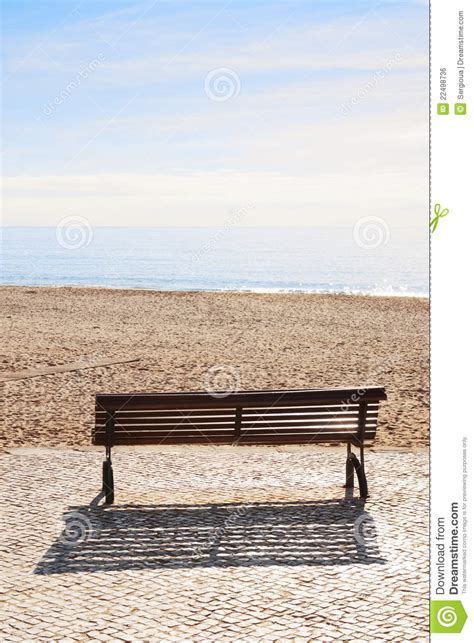bench on the beach bench on the beach royalty free stock image image 22498736