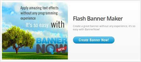 templates de banners em flash bannernow criar rapidamente banners em flash online