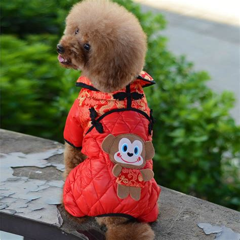 new year clothes for dogs 2016 monkey zodiac new listing clothes large