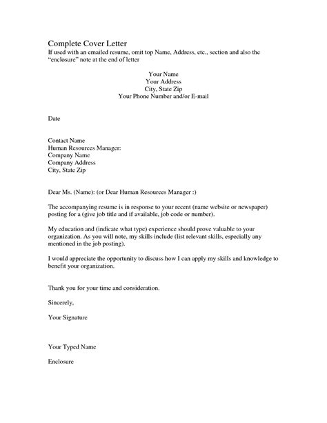 Doc.#12401754: How To Finish A Cover Letter Changing