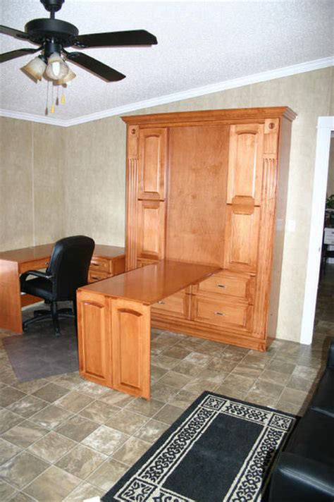 murphy bed desk custom by chris davis lumberjocks