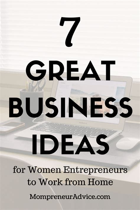 great business ideas  women  work  home