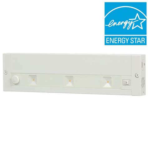 Juno 12 In White Led Dimmable Linkable Under Cabinet Juno Led Cabinet Lighting Reviews