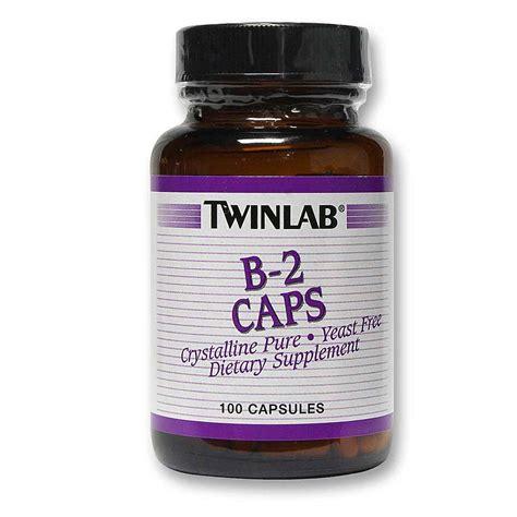Suplemen Twinlab Twinlab B 2 100 Mg 100 Capsules Evitamins