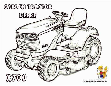 coloring pages of john deere tractors tractor coloring pages john deere coloring home