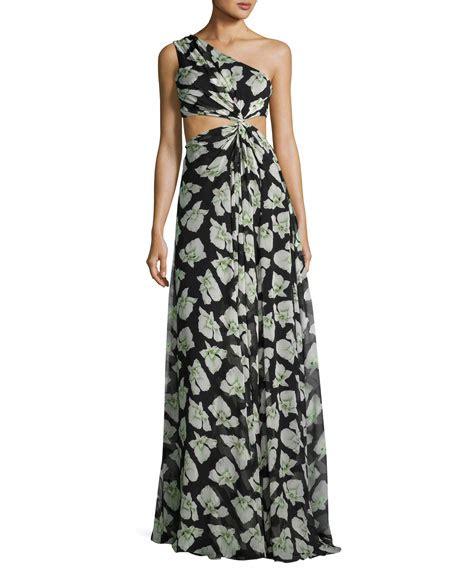 Goldy Maxy Dress cinq a sept goldie floral print one shoulder maxi dress